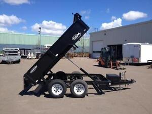 New 2016 Cam Advantage 6' x 10' Low Profile Dump Trailer