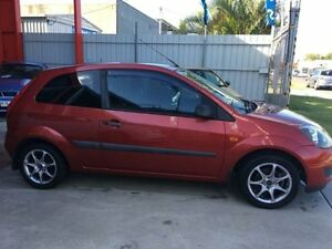 2006 Ford Fiesta WQ LX Red 5 Speed Manual Hatchback Clontarf Redcliffe Area Preview