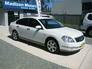 2007 Nissan Maxima J31 MY06 ST-L White 6 Speed CVT Auto Sequential Sedan Tuncurry Great Lakes Area Preview