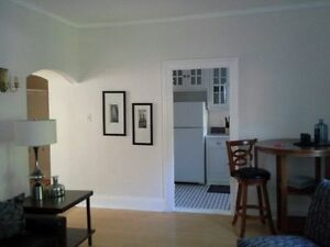 FULLY FURNISHED  amazing   open concept condo/ in suite laundry