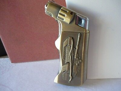 New Pistol Style Butane Torch Cigarette Lighter on Rummage