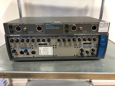 Audio Precision Apx585 8 Channel Audio Analyzer With Ats-1 Include Fresh Cal
