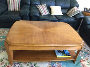Coffee Table And a Set Of End Tables