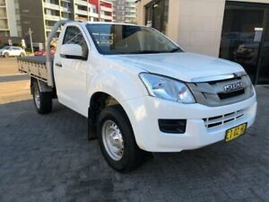 2016 Isuzu D-MAX TF MY15.5 SX HI-Ride (4x2) White 5 Speed Automatic Cab Chassis North Strathfield Canada Bay Area Preview