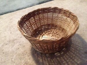 Handmade  woven baskets from The Ivory Coast