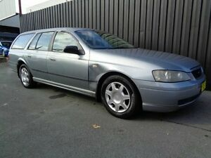 2003 Ford Falcon BA XT Grey 4 Speed Auto Seq Sportshift Wagon Chifley Woden Valley Preview