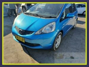 2009 Honda Jazz GE MY09 GLi Blue Automatic Hatchback Lansvale Liverpool Area Preview