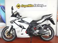 2016 DAELIM ROADSPORT 125CC, 0% DEPOSIT FINANCE AVAILABLE