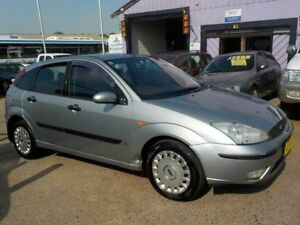 2004 Ford Focus LR MY2003 CL Silver 4 Speed Automatic Hatchback North St Marys Penrith Area Preview