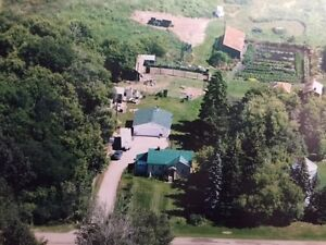 ACREAGE LIVING!! FOR $269,900..4.40 ACRES  OUT OF SUBDIVISION.