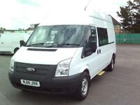 Ford Transit T350 LWB H/R VAN 100PS EURO 5 MESS VAN DIESEL MANUAL WHITE (2014)