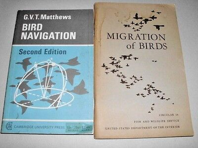 LOT # 70 - TWO BOOKS ON BIRD MIGRATION AND NAVIGATION