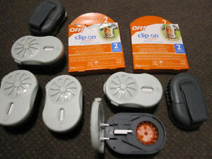 Off! Clip-On® Mosquito Repellent - Fan Kit + Battery Kitchener / Waterloo Kitchener Area image 3