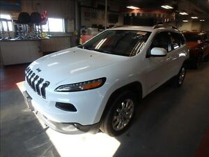2016 Jeep Cherokee Ltd 4x4*Lthr/Nav