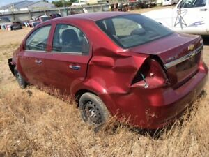 2011 Chevy Aveo LT  4DR Sedan ( Rollover ) 56,011kms