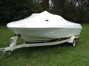 BOAT WINTERIZING, SHRINK WRAPPING AND REPAIR