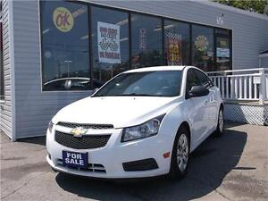 2012 CHEVROLET CRUZE LS+  * VERY CLEAN * CERTIFIED & E-TESTED *
