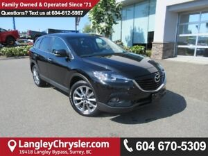 2015 Mazda CX-9 GT <B>*ACCIDENT FREE*LOW KMS*AWD*<b>