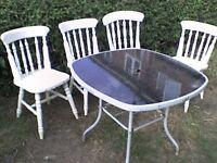 Garden Furniture Table & FREE Chairs - Heathrow