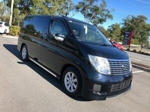 2004 Nissan Elgrand E51 Series 2 VX Black 5 Speed Automatic Wagon Arundel Gold Coast City Preview