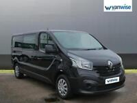 2015 Renault Trafic LL29 ENERGY dCi 125 Business 9 Seater Diesel black Manual