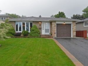 Welcome To South Ajax! Immaculate 3 Bed 2 Full Bath Bungalow