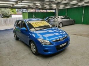 2010 Hyundai i30 FD MY10 SX Blue 5 Speed Manual Hatchback Croydon Burwood Area Preview