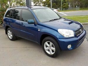 2005 Toyota RAV4 ACA23R CV (4x4) Blue 5 Speed Manual Wagon Deception Bay Caboolture Area Preview