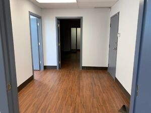 Large office space for lease in downtown Saskatoon.