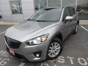 2013 MAZDA CX-5 GS PKG FWD CAMERA S-ROOF H-SEATS PWR SEAT NEW BR