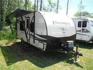 2016 Palomini 180FB Ultra Lite Travel Trailer - Only 3100LBS!!