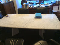 Marble Table Dining room or Conference room