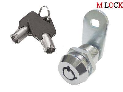1 18 Tubular Cam Lock Rv Toolbox Cabinet Desks Boxes Keyed Alike 2400al