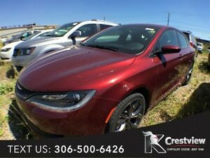 2015 Chrysler 200 S V6 w/ Sunroof