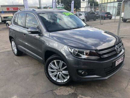 2012 Volkswagen Tiguan 5N MY12.5 155TSI DSG 4MOTION Grey 7 Speed Sports Automatic Dual Clutch Wagon Townsville Townsville City Preview