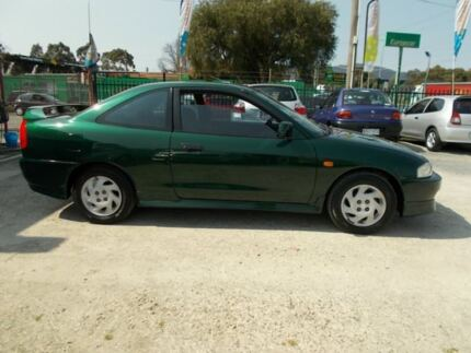 1998 Mitsubishi Lancer CE II MR Green 4 Speed Automatic Coupe