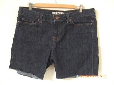 J Brand Best Dark Denim Low Rise Cut Off Shorts Fab Curvy Classic UK 14 W (Best Denim Jeans Brands)
