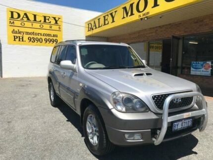 2005 Hyundai Terracan HP MY05 Silver 4 Speed Automatic Wagon Armadale Armadale Area Preview