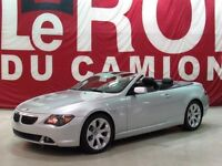 BMW 6 Series 650i CONVERTIBLE 2007