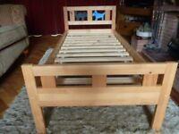 Ikea Toddler Bed in Pine