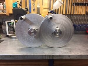 Welding cable live spools.