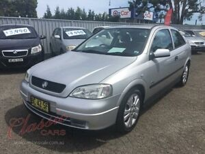 2002 Holden Astra TS SRi Silver 5 Speed Manual Hatchback Lansvale Liverpool Area Preview