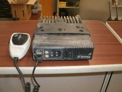 Motorola Maxtrac Two Channel 60 Watt Low-band Mobile Radio