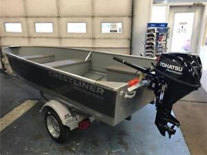 2018 CRESTLINER 1460 OUTREACH FISHING BOAT PACKAGE