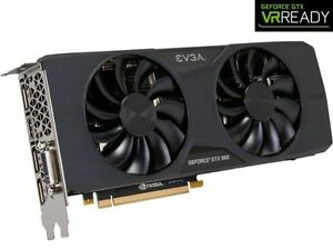 Nvidia 980 GTX 4GB EVGA SC Video Card