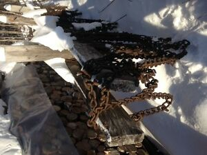 Ice Chains for Tractor