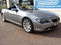 BMW 630 3.0 auto 2006 i Sport Full S/H £2600 of added extras P/X Swap