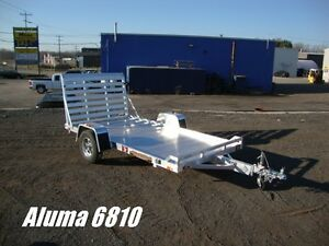 Aluminum Utility Trailers by Miska