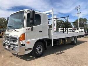 Hino FD 1024-500 Series Hino Tray Truck Tray Tinana Fraser Coast Preview