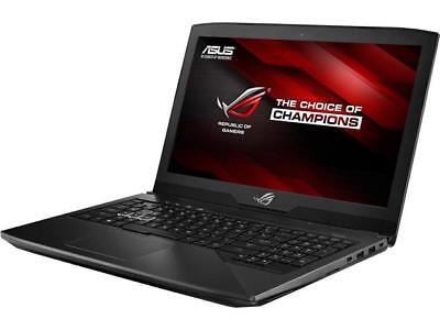Asus ROG STRIX GL503VD 15.6 Laptop i7-7700HQ 16GB RAM 1TB HDD 256GB SSD GTX1050